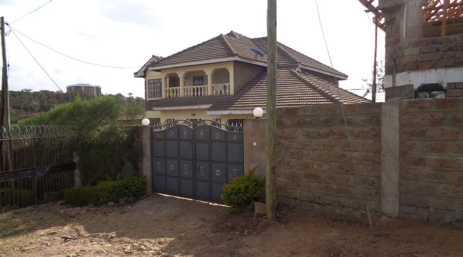 Rongai-House-For-Sale-Front-Gate